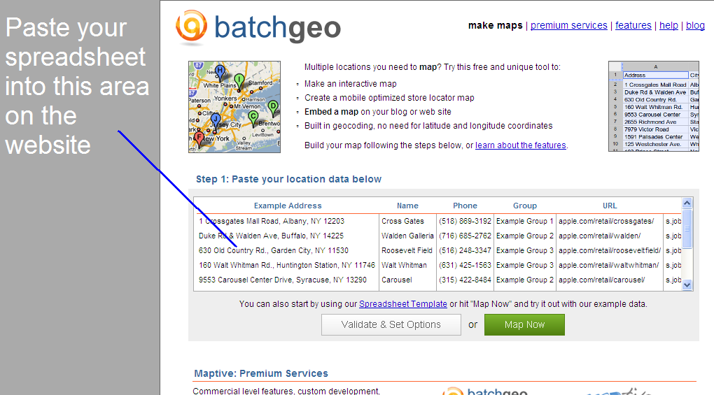 BatchGeo Screen Shot